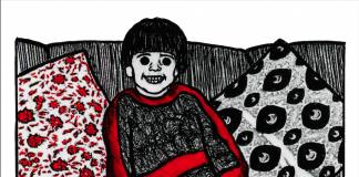 Ilustración de Sueño 1. Lengua noche, Rafael Villegas