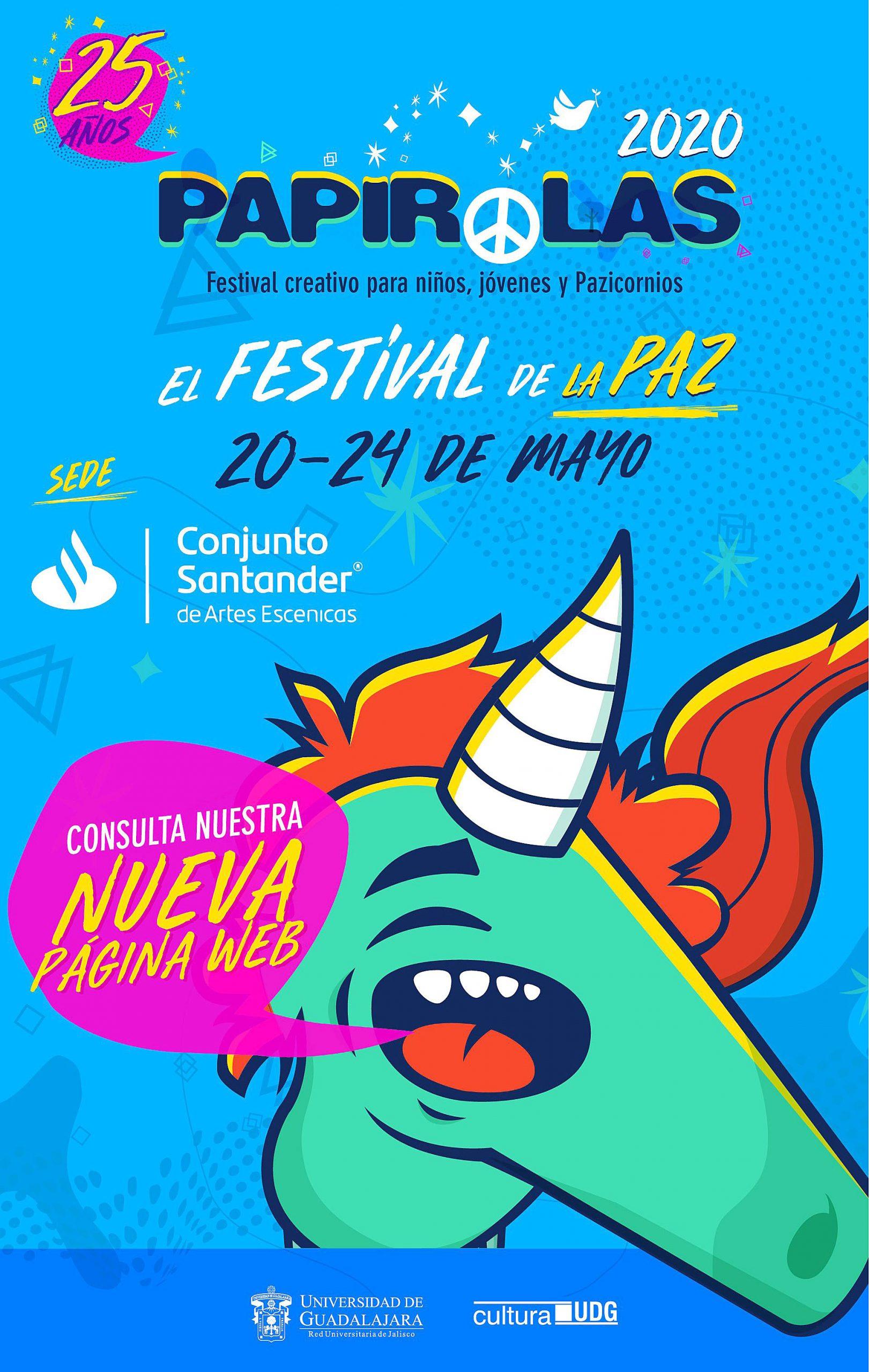 Festival para niñas, niños y adolescentes Papirolas