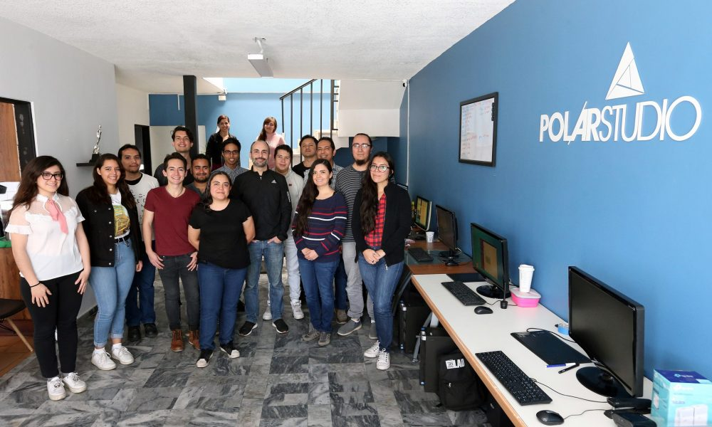 Equipo de Polar Studio, creadores del FICGminuto 35