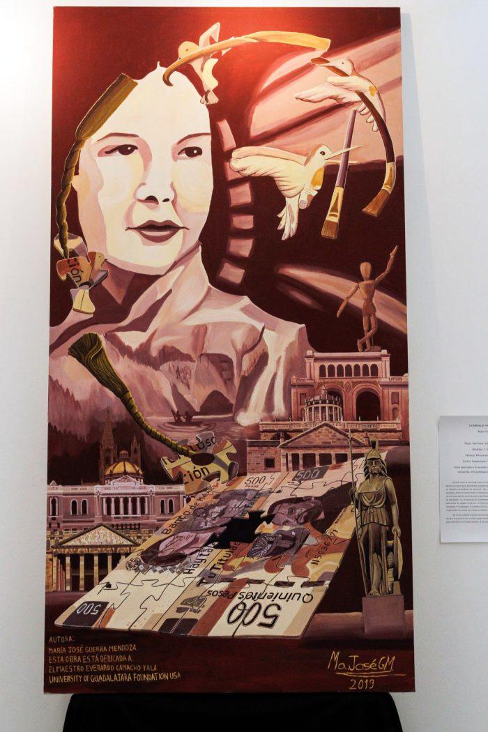 Mural en honor a Gladys Grodman, por María José Guerra