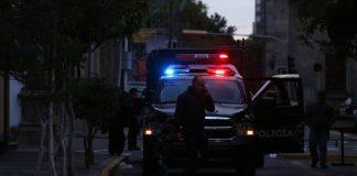Policías en las calles del Centro de Guadalajara