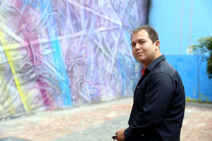 Hiram Ruvalcaba. Fotografía: Adriana González