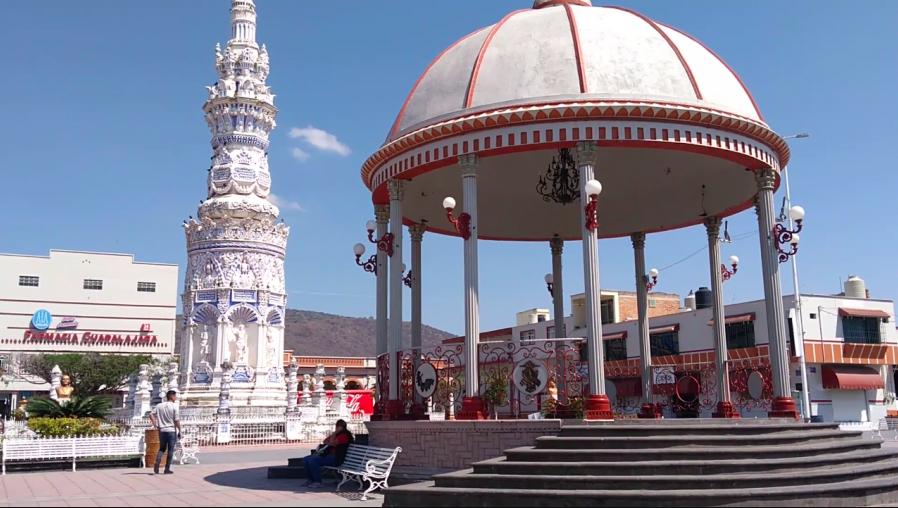 Plaza de Jamay. Foto de Juan Carlos Salcido
