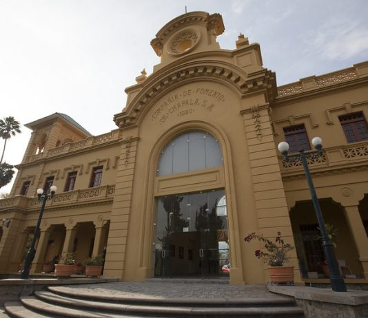 Antigua Estación del Tren de Chapala, hoy Centro Cultural González Gallo. Fotografía: Cortesía de la Secretaría de Cultura de Jalisco