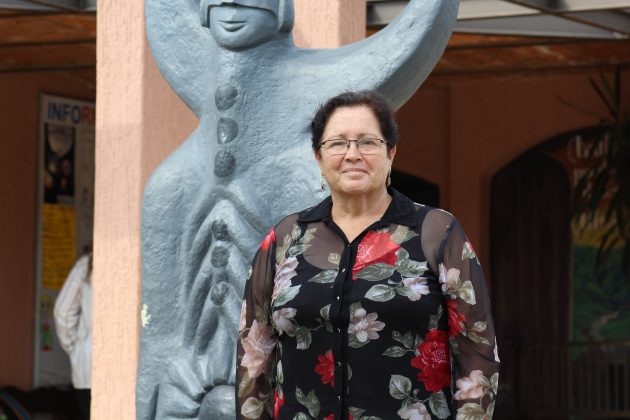 Ana Rosa González, cronista de Acatic. Fotografía: Iván Serrano Jauregui