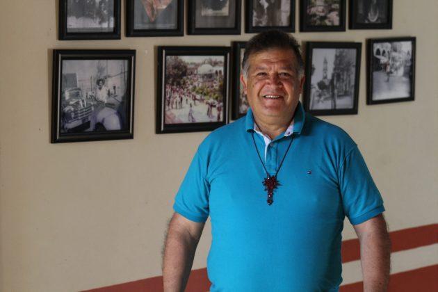 José Javier López, promotor del Mariachi Tradicional de Acatic. Fotografía: Iván Serrano Jauregui