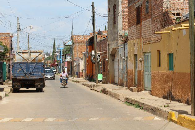Las calles de Acatic. Fotografía: Iván Serrano Jauregui