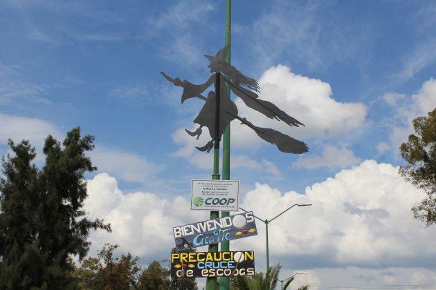 Anuncia de bienvenida en Acatic. Fotografía: Iván Serrano Jauregui