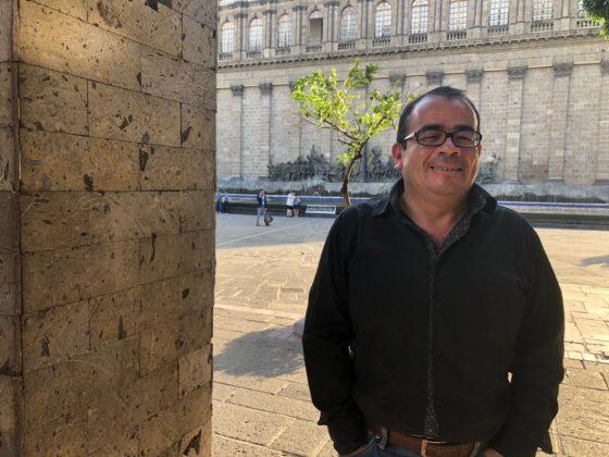 Carlos H. Loza Gutiérrez, historiador de Sucedió en Guadalajara. Fotografía: Iván Serrano Jauregui
