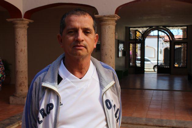 Cruz Bañuelos, cronista de Jamay. Fotografía: Iván Serrano Jauregui