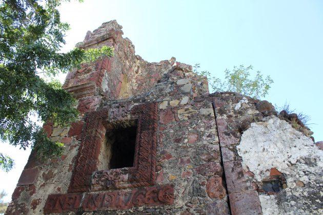 Ruinas del Templo de María Magdalena de Jamay. Fotografía: Iván Serrano Jauregui