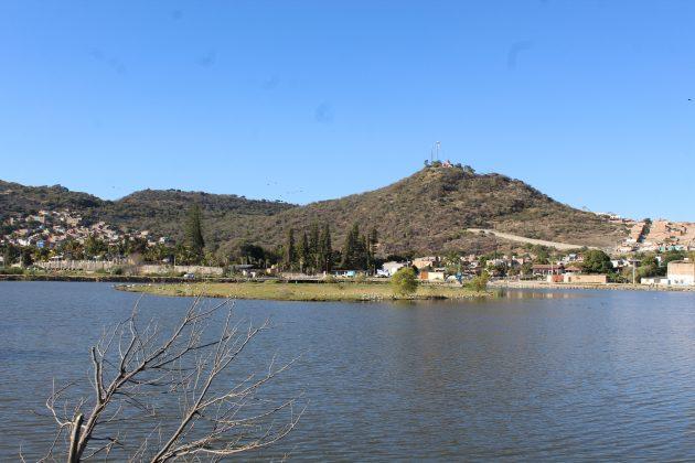 Vista hacia el cerro de Jamay. Fotografía: Iván Serrano Jauregui