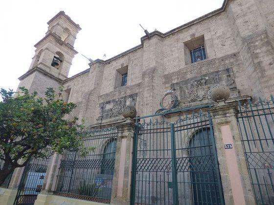 Templo de Santa Teresita de Jesús en Centro de Guadalajara. Fotografía: Wikipedia