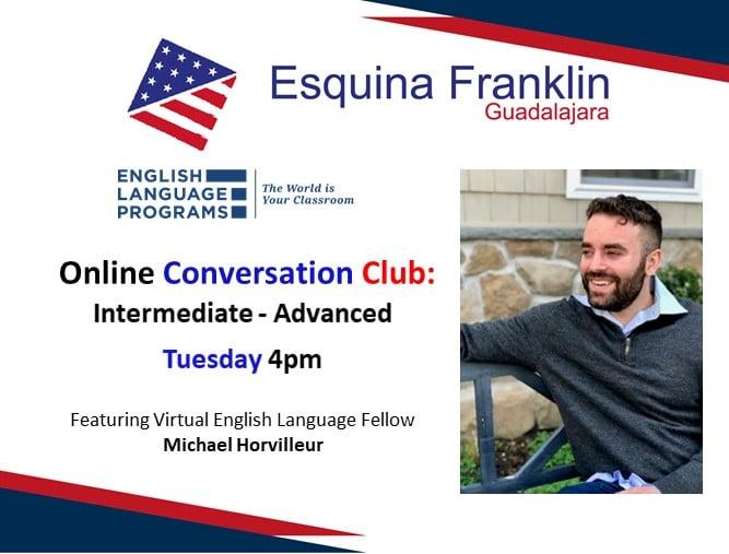 Club de Conversación de Inglés en Esquina Franklin