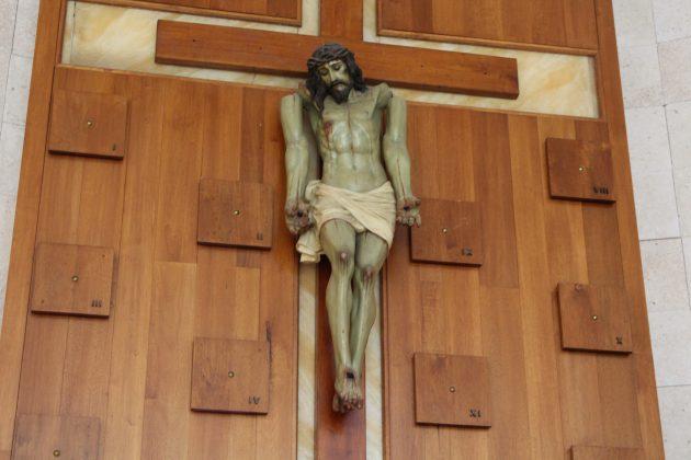 Cristo de los Brazos Caídos, de Barra de Navidad. Fotografía: Iván Serrano Jauregui