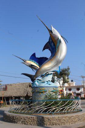 Monumento al Pez Vela. Fotografía: Iván Serrano Jauregui