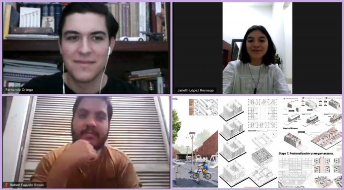 Ganadores Infonavit 2020, estudiantes de Arquitectura del CUAAD