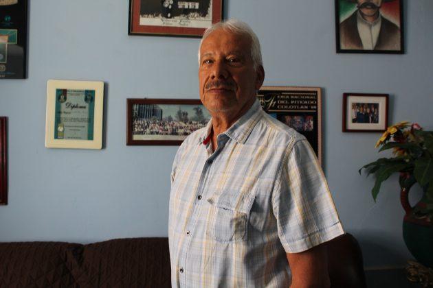 David Carrillo, vecino del Barrio de la Piedra China. Fotografía: Iván Serrano Jauregui