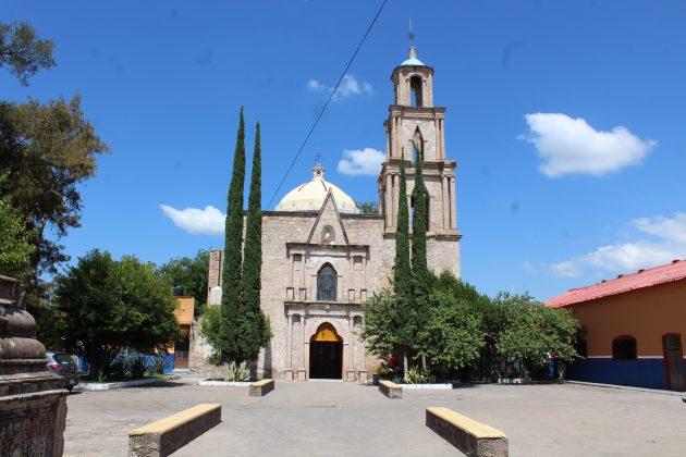 Iglesia de San Nicolás Tolentino, en el Centro de Colotlán. Fotografía: Iván Serrano Jauregui
