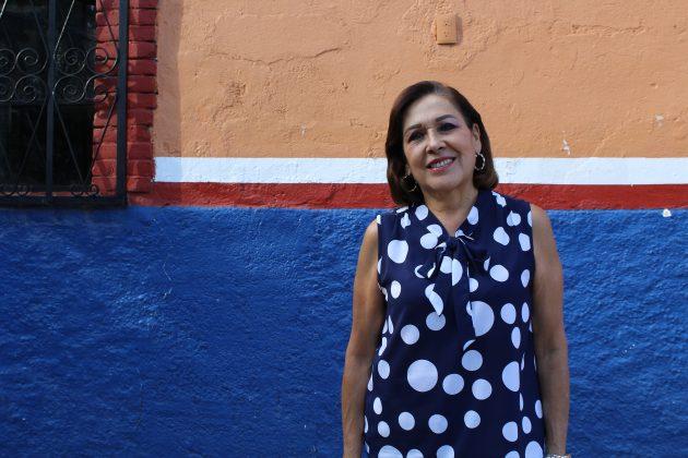 Lucy Vázquez Felgueres, cronista en Colotlán. Fotografía: Iván Serrano JaureguiIMG_9059