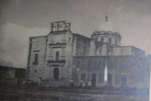 Imagen antigua de Templo de Villa Guerrero