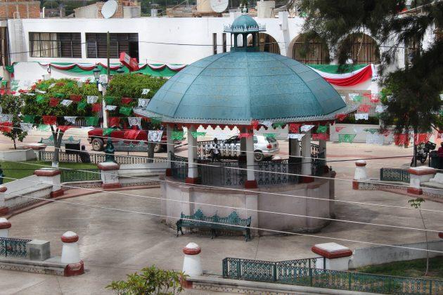 Plaza Principal de Villa Guerrero. Fotografía: Iván Serrano Jauregui