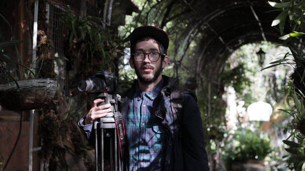 Daniel Hernández, cineasta del DIS-CUAAD. Fotografía: Cortesía