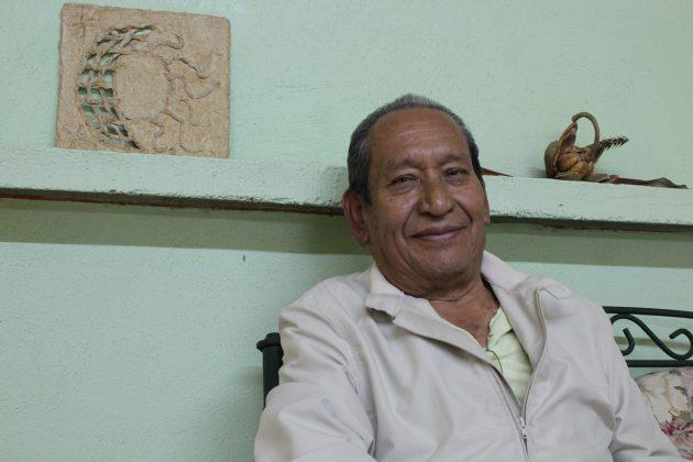 Escritor José Silva Vázquez de Tuxpan. Fotografía: Iván Serrano Jauregui