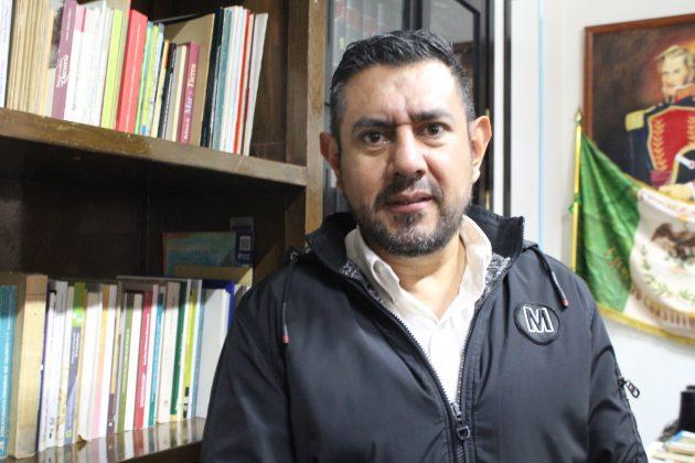 Fernando González Castolo, cronista de Zapotlán el Grande. Fotografía: Iván Serrano Jauregui