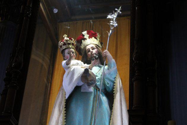 Imagen de San José, en la Catedral de Ciudad Guzmán. Fotografía: Iván Serrano Jauregui