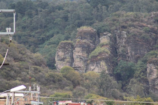 Piedras de Los Compadres, en Ciudad Guzmán. Fotografía: Iván Serrano Jauregui