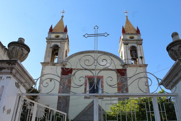 Templo de Tecolotlán. Fotografía: Iván Serrano Jauregui