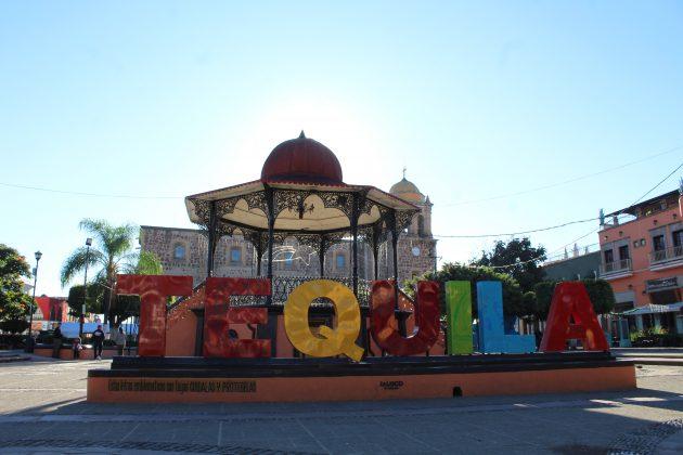 Plaza principal de Tequila. Fotografía: Iván Serrano Jauregui