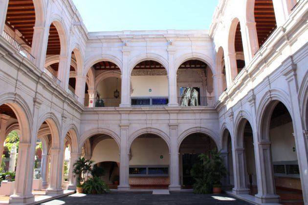 Interior del Centro Cultural Juan Beckman. Fotografía: Iván Serrano Jauregui