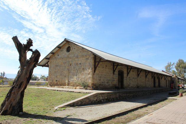 Antigua estación del tren de Ameca. Fotografía: Iván Serrano Jauregui