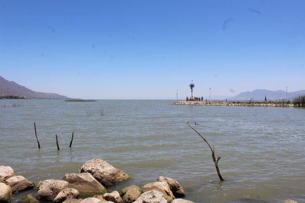 Lago de Chapala, desde Jocotepec. Fotografía: Iván Serrano Jauregui