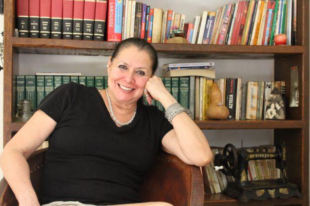 La historiadora Aida Aguilar, de Jocotepec. Fotografía: Iván Serrano Jauregui