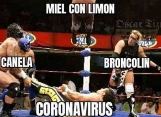 Meme sobre la pandemia en México