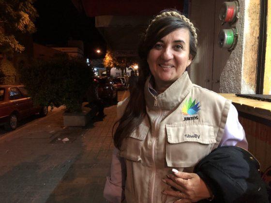 Araceli, guía de turistas en Tequila. Fotografía: Iván Serrano Jauregui