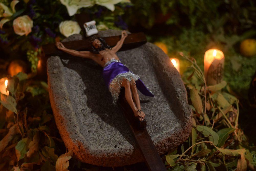 Tendido de Cristos en San Martín Hidalgo, Jalisco. Fotografía: Bernardo Badillo