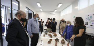 Laboratorio de Arqueología Otto Schöndube. Fotografía: Gustavo Alfonzo